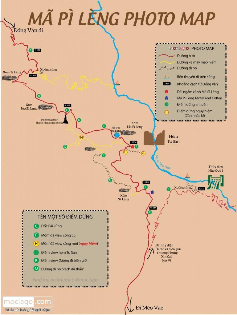moclago mapilengphotomap - Lịch trình tối ưu 3 ngày 2 đêm đi cao nguyên đá Đồng Văn 2020 (Hà Nội - Hà Giang - Hà Nội)